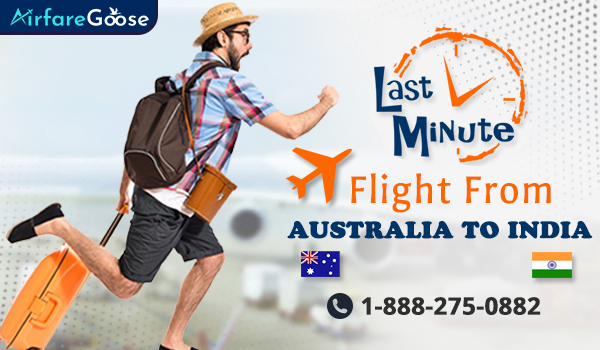 5 Tips to Avail Cheap Last Minute Flights From Australia to India!