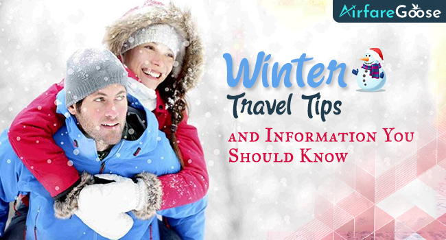 Winter Travel- Important Tips to Remember