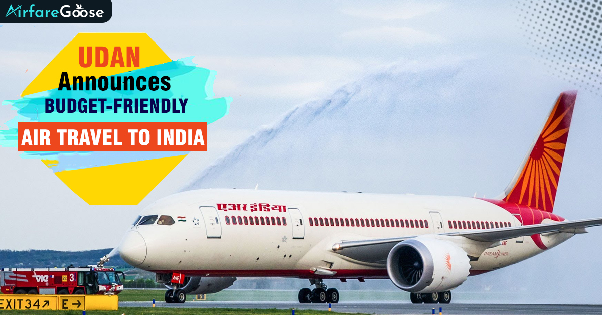 UDAN makes Air Travel to India More Affordable