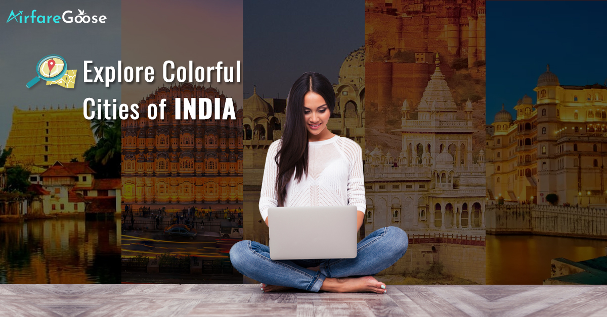 Colour Coded Indian Cities That One Must See!