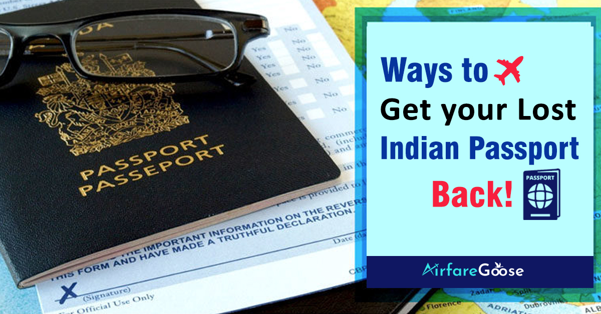 Lost your Indian Passport in the USA? Here's What to Do!