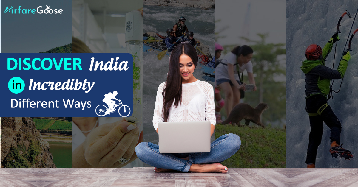 Travel India in Thrilling 10 Different Ways!!!