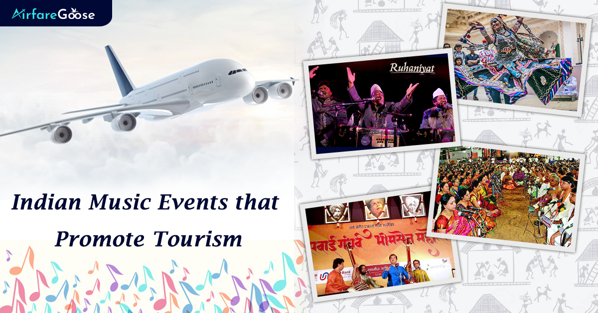 4 Indian Music Events that Promote Travel and Tourism!