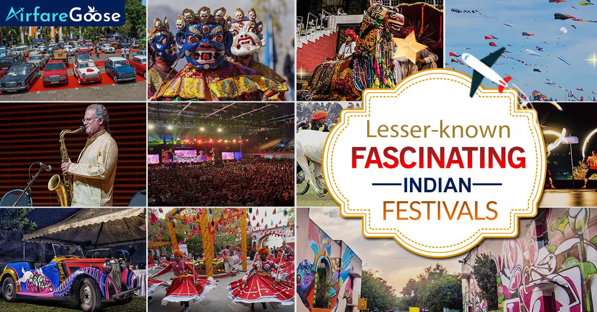 12 Fascinating Indian Festivals you've never heard