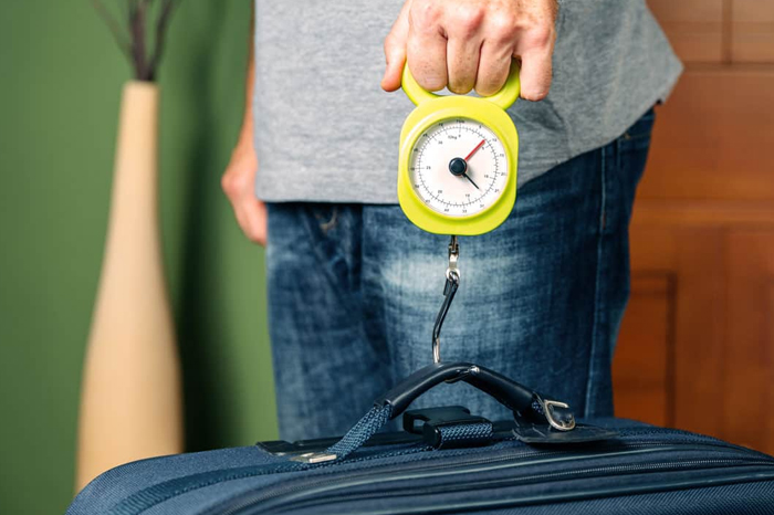 Not Marking and Weighing Your Luggage Beforehand